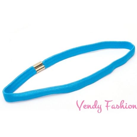 Čelenka do vlasů pružná modrá