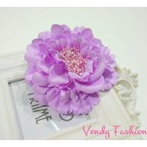 Levandulový květ do vlasů