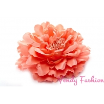 Tmavě růžový květ do vlasů