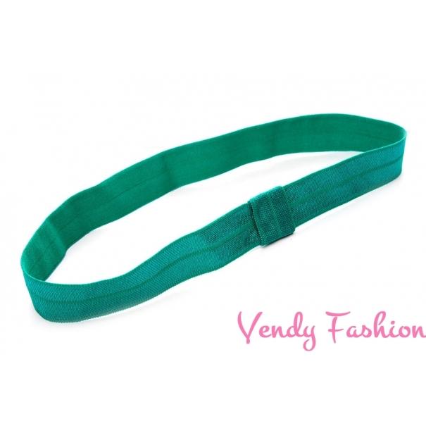 Čelenka pro děti smaragdová - Vendy-Fashion.cz e4eae9d736