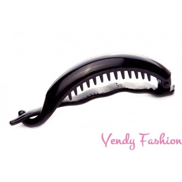 Banán do vlasů černý zahnutý - Vendy-Fashion.cz 157ee43b79