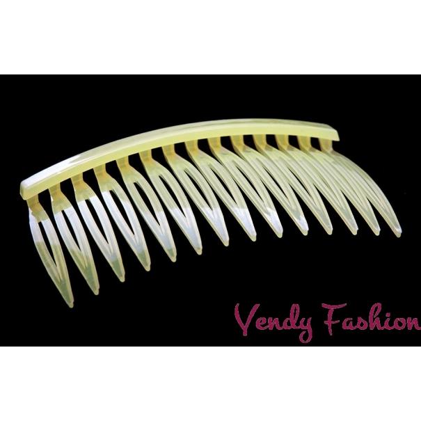 Hřeben do vlasů žlutý - Vendy-Fashion.cz b5da8028ec