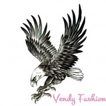 3D dočasné tetování pro muže letící orel 21x15cm