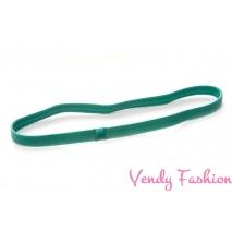 Látková sportovní čelenka zelená protiskluzová