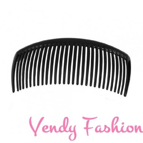 Hřeben do vlasů plastový černý - Vendy-Fashion.cz ade4b6e59e