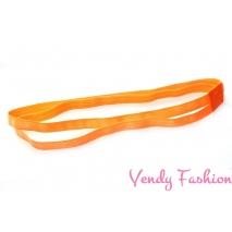 Sportovní protiskluzová čelenka oranžová dvojtá ff91673dcd